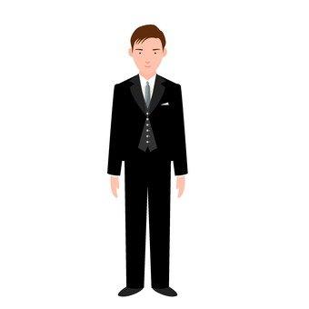 Male in tuxedo 2