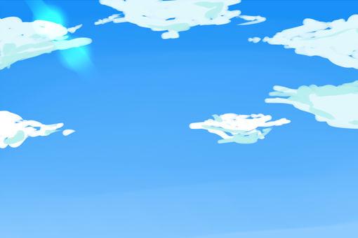 Easy background blue sky