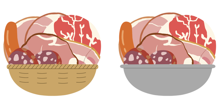 【Stuffing】 Meat (processed meat) * No main line
