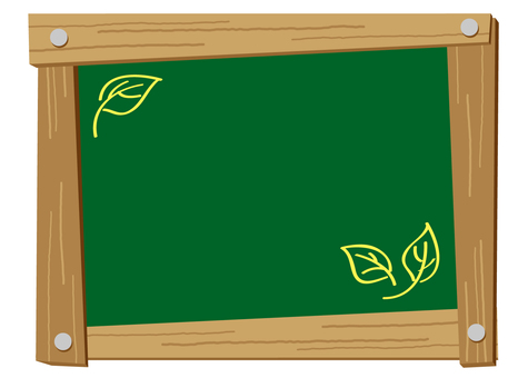 Blackboard fashionable