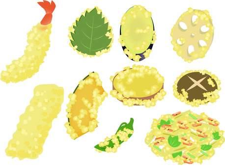 Various tempura
