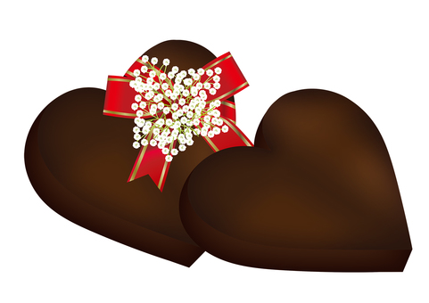 Heart chocolate 12