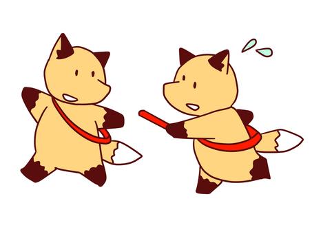Fox fox - relay