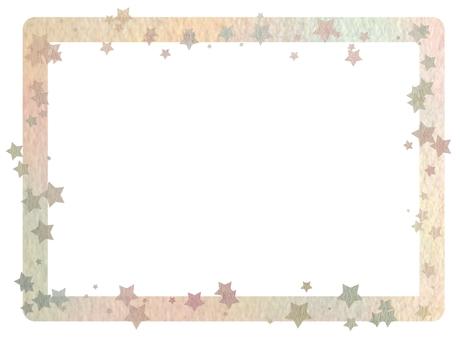 Scattered star frame