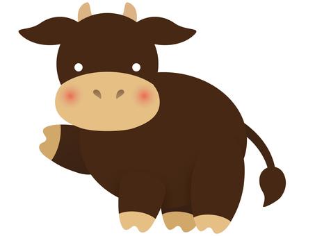 黒毛和牛|シルエット イラストの無料ダウンロードサイト