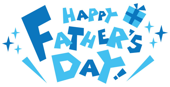 FATHERS DAY ☆ Father's Day ☆ logo