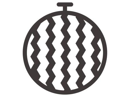 Watermelon icon -3