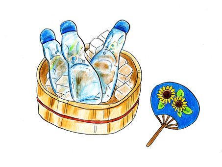 Ramune and Fan