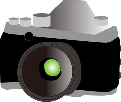 SLR 카메라 일러스트