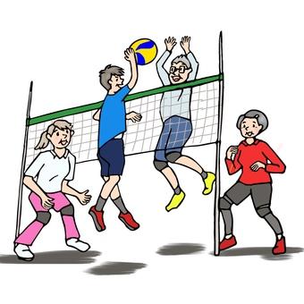 Soft volleyball 2