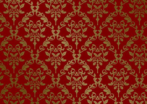 British wind wallpaper red