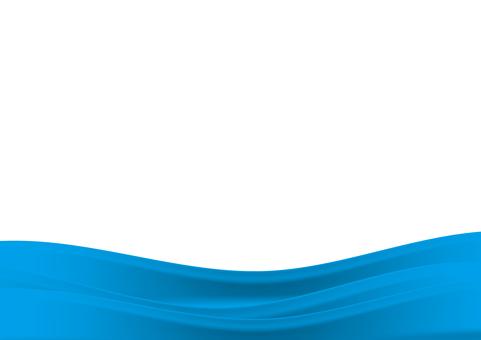 背景_彎曲的設計_淡藍色