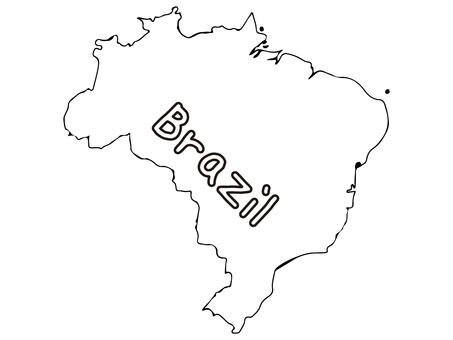 Brazil terrain