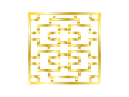 Chinese Frame of Gold