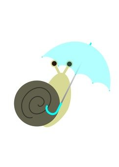 Umbrella and Snail