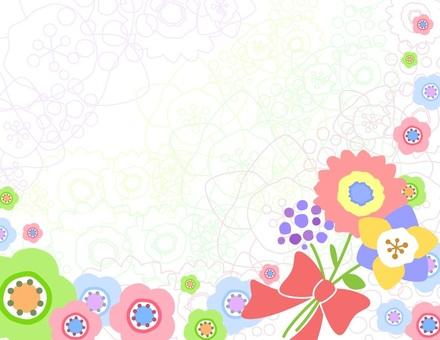 북유럽 풍의 꽃 _ 프레임
