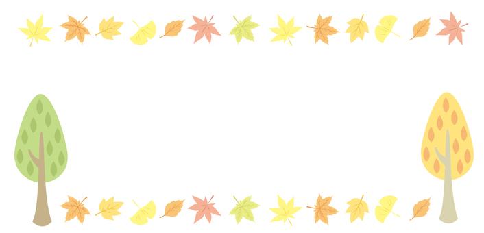 Fall decorative frame 14