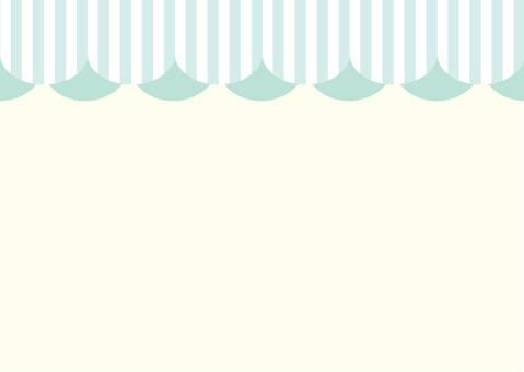 천막 카드 그린