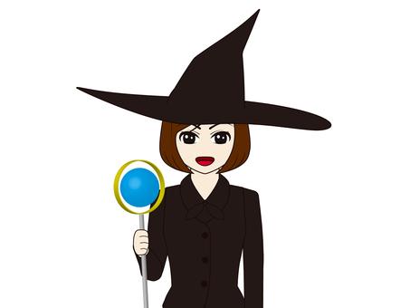 巫婆與拐杖/女巫