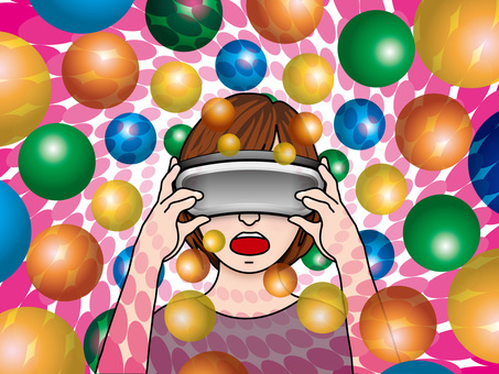 VR goggles (22) The world view surprising girls
