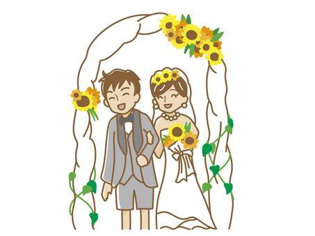 夏の結婚式