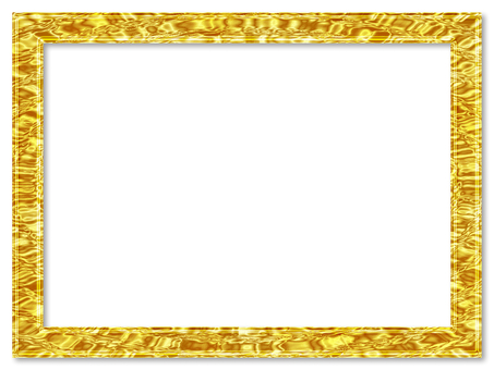 황금 물 꿀 골드 프레임 반사 투명감