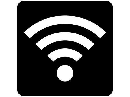 Wi-Fi (WiFi) Mark Black