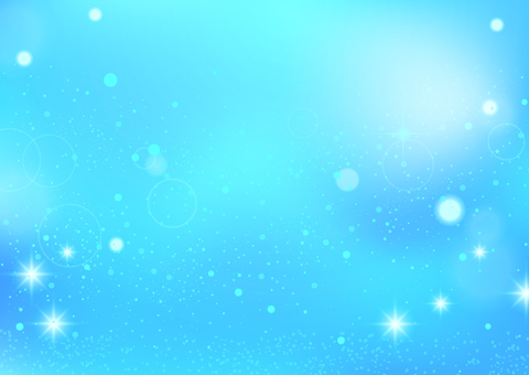 Background material of glitter (blue)