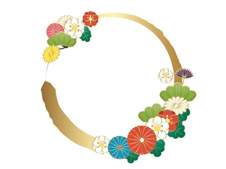 일본의 원형 소재