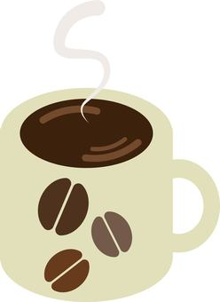 머그컵에 담긴 커피
