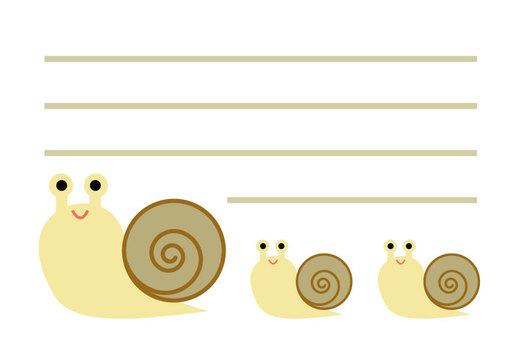 Snail Parents Petit Memo 1