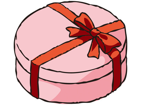 Present Box (Pink)