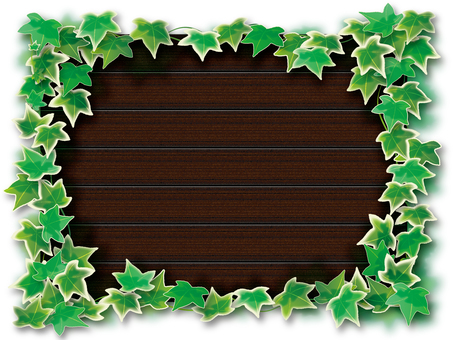 Wood grain and Ivy 2