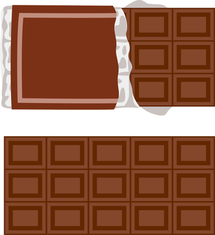 Board chocolate