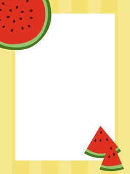 Watermelon Postcard 01