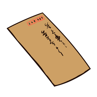 Envelope (with letters)