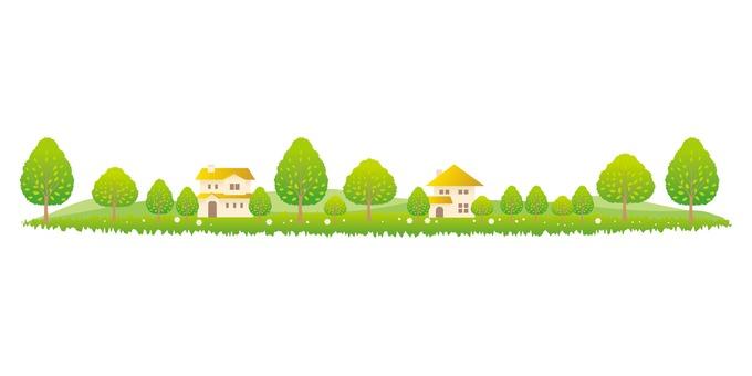 푸른 나무와 생활