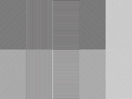 스트라이프 패턴 견본