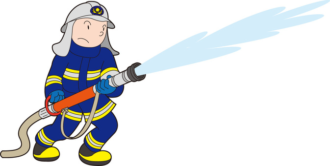 放水消防士くん