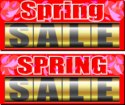 SPRING SALE spring sale material
