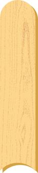 Grain strip b_v 8