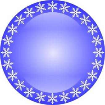 Snow Crystal Circle