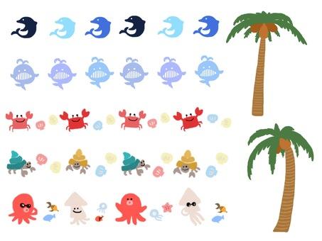 여름 ☆ 바다 생물