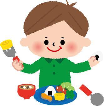 Breakfast (children) Japanese food