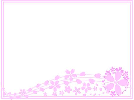 벚꽃 프레임 29