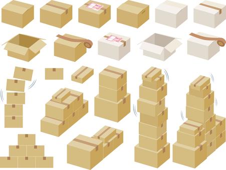 Cardboard boxes Summary