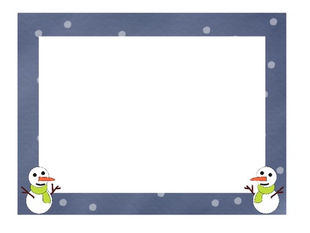 Snowman background 2