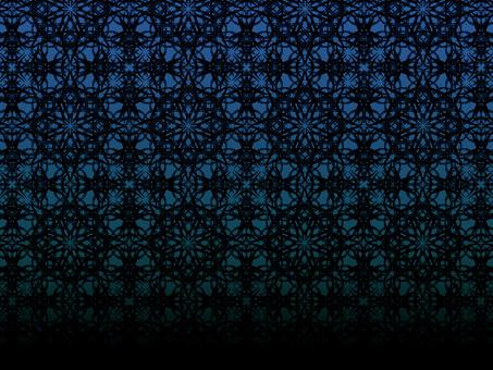 細菱形2(藍色漸變)