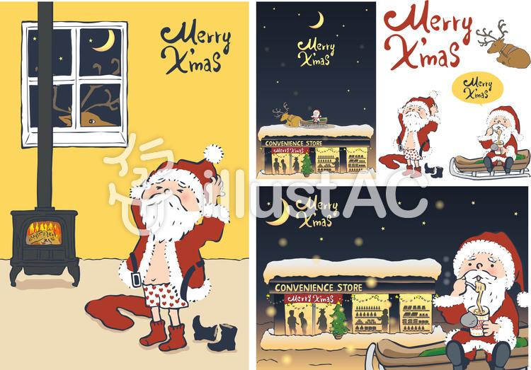 Free Santa Clip Art with No Background - ClipartKey