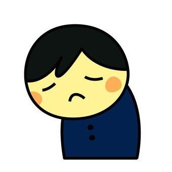 Depressed person 1